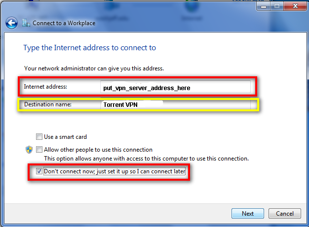 How To Setup VPN in Windows 7 - 7